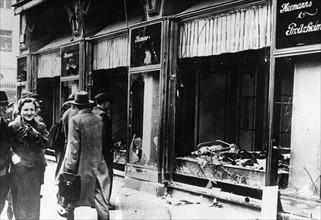 Mouvement antisémite en Allemagne, organisé par le parti nazi (1938)