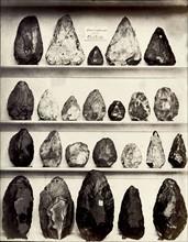 Outils en silex, British Museum