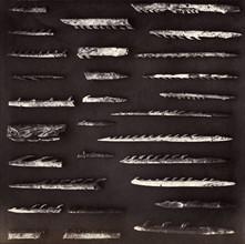 Têtes de harpons, British Museum