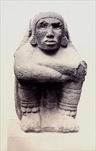 Statue en pierre représentant Xochipilli, British Museum